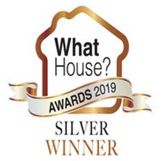 Winners of the What House Awards Silver for Best Small Housebuilder